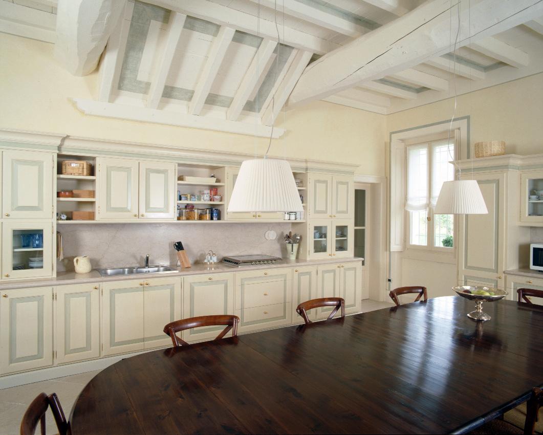 Cucine in legno su misura a brescia falegnameria maestri - Cucine su misura milano e provincia ...