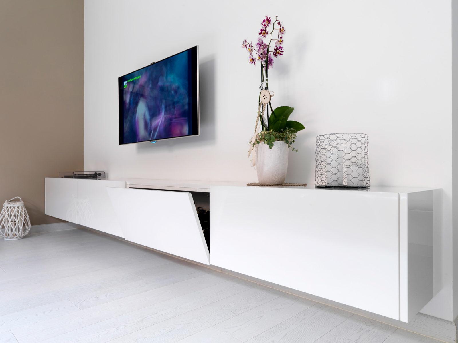 Mobili soggiorno in legno, su misura | Falegnameria Maestri
