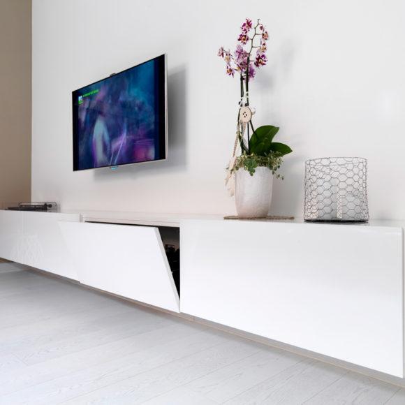 Mobile soggiorno realizzato su misura